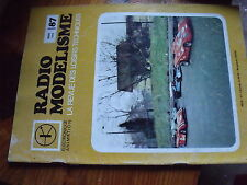 $$ Revue Radio Modelisme N°87 Hydro-racer  Montage Associated  Construction avio