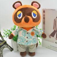 Animal Crossing New Horizons Tom Nook 28CM Plush Toy Soft Doll Kid Birthday Gift