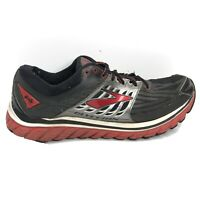 Brooks Glycerin 14 Running Shoes Mens Size 12 D Black Gray Red Sneakers 02361