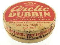 Vintage Capo Polishes Arctic Dubbin Waterproofing For Leather Tin Jar Q255