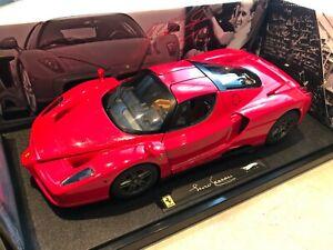 Ferrari Enzo Michael Schumacher Hot Wheels Elite 1/18