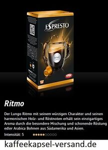 K-fee Espresto - RITMO LUNGO - 6x16=96 Kapseln - 3,71€ / 100 Gramm