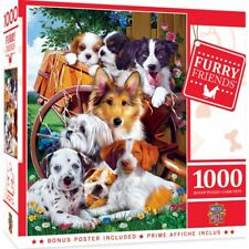 MasterPieces 1000pcs Furry Friends Ready for Work Jigsaw Puzzle