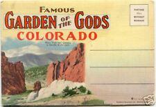 GARDEN OF THE GODS Folder ~ Colorado ~ LINEN