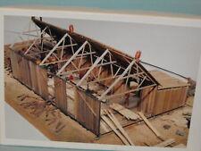 lucas sawmill N SCALE BY JV MODELS #1021
