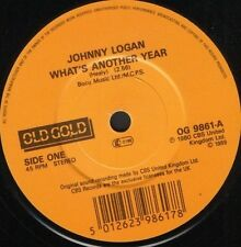 """JOHNNY LOGAN what's another year 7"""" WS EX/ uk ri OG 9861"""