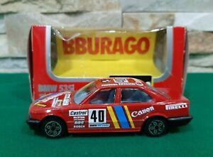 BMW 535i -  1988 - BBURAGO - DIE CAST METAL MODEL Scala 1:43