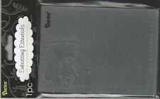 RETIRED   4.5 x 5.75 Inch Darice Embossing Folder BABY B29