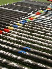 Golf Graphite Iron Shafts MINT CONDITION.