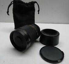 Quantaray / Sigma 500mm 1:8 Mirror lens for Nikon