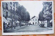 CPA 92 HAUTS DE SEINE - LES VALLEES - PLACE DE LA GARE