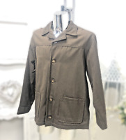 White Stuff Winchester Blazer Warm Winter wool jacket Coat Size Large Brown