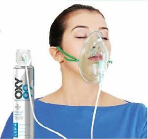 Bombola di ossigeno portatile OXY99 da 6 litri BOSCHI ITALY Breathe Pure Oxygen