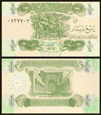 Iraq 1/4 Dinar 1993 (UNC) 全新 伊拉克 1/4第纳尔 1993年