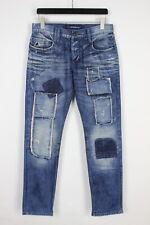 Cipo & Baxx C-884 Homme W31/L32 Déchiré Patchs Jeans Coupe Slim 34492-GS