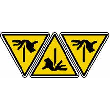 Autocollants : sticker autocollant pictogramme risque de coupure