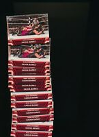 2017 Topps WWE Womens Division Lot Of 20 Famous Finishers Sasha Banks F-9