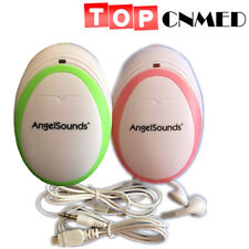 Angelsounds baby 3MHz probe Fetal Doppler Prenatal Heart Rate Monitor baby monit