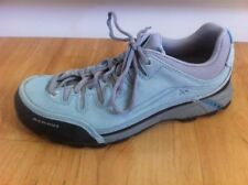 Ladies Blue MAMMUT Shoes AUS Size 7.5 EU 39  Active Wear Hiking Leather Sneakers