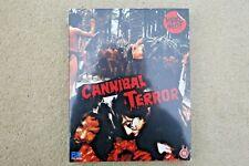 BLU RAY CANNIBAL TERROR   ( STUDIO 88 FILMS ) NEW SEALED UK STOCK