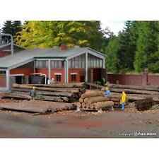 Kibri 38663 1/87 Ho Decors Assortiement Wooden For Scierie Logs Trunks H0