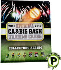 CRICKET - 2016/17 CA & Big Bash Trading Cards Official Collectors Album #NEW