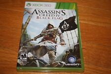 Brand New Factory Sealed Xbox 360 Assassin's Creed IV Black Flag  SHIP FREE US