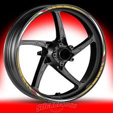 Adesivi moto YAMAHA FAZER 8 strisce RACING 4 cerchi ruote wheels stickers