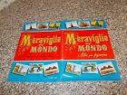ALBUM MERAVIGLIE DEL MONDO LAMPO 1957 BN/OTTIMO CON 67 FIGURINE TIPO PANINI MIRA