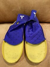 NIKE KOBE VII 7 Play Strong Shoe Inserts purple and yellow Size 8.5 Or 9 High