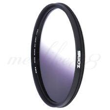 Zomei Universal 77mm Ultra Slim Graduated Grey Lens Filter For Canon Nikon DSLR