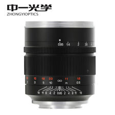 Zhongyi Mitakon Speedmaster 50mm f/0.95 III Lens for Canon EOS R RP R5 R6 camera