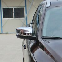Chrome Side Door Wing Mirror Cover Rearview Mirror Trim For Volvo XC60 2014 2015