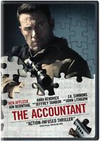 The Accountant [New DVD] Eco Amaray Case