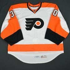2015-16 Michal Neuvirth Philadelphia Flyers Game Used Worn Hockey Jersey MeiGray