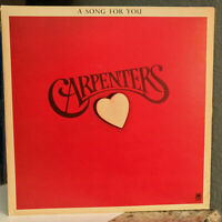 """CARPENTERS - A Song For You - 12"""" Vinyl Record LP - VG"""