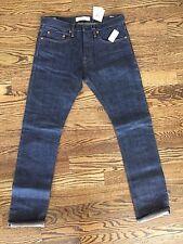Gap Mens 1969 Kaihara Japanese Selvedge Denim Slim Low Rise Jeans 31 x 32 NWT