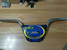NOS GT Stamped Old School BMX EXPERT Handle bars Robinson Haro redline Dyno