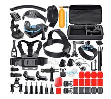 52 en 1 Accesorios Leknes Kit GoPro Hero 5 4 3+ 3 2 1 Cámara de Acción NUEVO