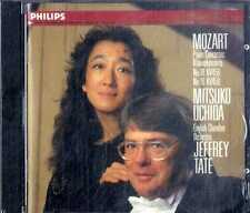 MOZART Piano Concertos (Uchida Tate) CD Philips NEW SEALED