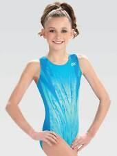 Gk Elite GymTek Steadfast Competitor Gymnastics Leotard Child Medium New w/Tags