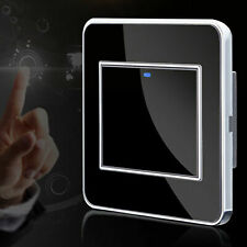Wall Mounted Sensitive Touch Panel LED Light Dimmer Controller Switch 220-250V