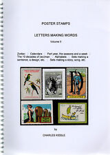 (I.B-CK) Cinderella Catalogue : Poster Stamps : Letters Making Words (volume 2)