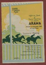 1952 SHAW SAVILL Line Ship SS ARAWA Race Meeting on board  ya.33