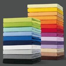 Mako Jersey Spannbettlaken Spannbetttuch 180x200 cm Bettlaken - 100% Baumwolle -