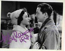 L-HEDY LAMARR/ROBERT YOUNG Autographs Photo- W/COA