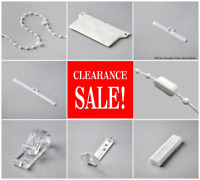 Vertical Blind Spare Parts 89mm&127mm Weights,Chain,Hangers,Cord,Brackets & More