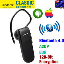 Wireless Bluetooth Headset Jabra CLASSIC Mono Single Ear Earbud Iphone Android
