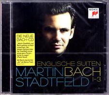 Martin STADTFELD: BACH English Suite No.1 2 3 Englische Suiten SONY CD Neu OVP