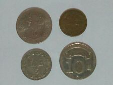 Taiwan 4 different COINS